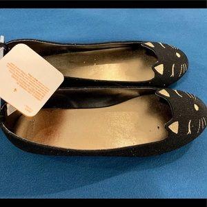 Gymboree Cat Flat Shoes